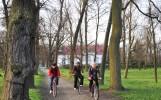 wycieczka rowerowa po parku w radzyniu podl