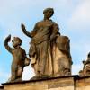 Rezydencja Potockich w Radzyniu Podlaskim. Rzeźby J. Ch. Redlera. fot. Hubert Czarnocki