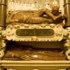 Kościół Trójcy Św. nagrobek Mikołaja i Zofii Mniszchów w kaplicy Matki Boskiej Różańcowej. fot. H. Czarnocki