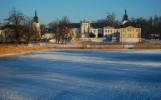 II_Monika Gołoś_Pałac od strony stawów_ZIMA