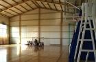 Sala gimnastyczna w Brzozowicy Dużej