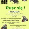 """Wycieczka rowerowa pod nazwą """"Historia kolei Lublin-Łuków"""""""
