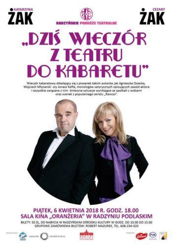 Katarzyna i Cezary Żakowie w Radzyniu