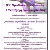 XX Spotkanie z Pieśnią i Tradycją Wielkopostną