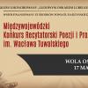 XIX Konkurs Recytatorski Poezji i Prozy Ludowej im. W. Tuwalskiego