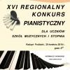 XVI Regionalny konkurs pianistyczny