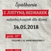 Spotkanie autorskie z Justyną Bednarek