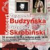 Koncert Zuzanny Budzyńskiej & Grzegorza Skrobińskiego