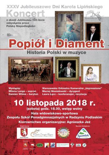 Koncert POPIÓŁ I DIAMENT - Historia Polski w Muzyce