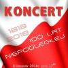 Koncert 100 lat Niepodległej w PSM