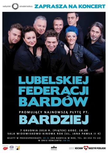 Lubelska Federacja Bardów 2018 - koncert