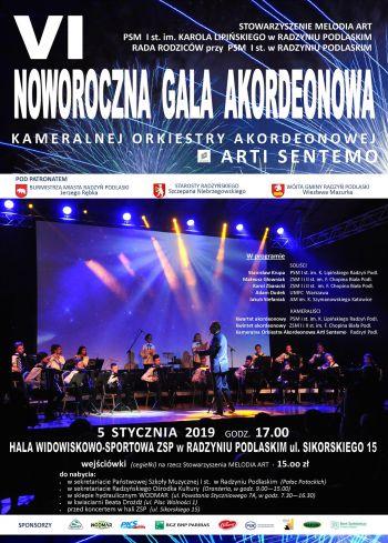 VI Noworoczna Gala Akordeonowa