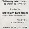 Cenzura w PRL - spotkanie z dziennikarzem
