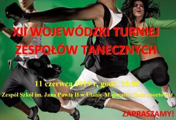 XII Wojewódzki Turniej Zespołów Tanecznych