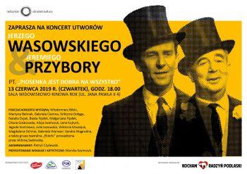 Koncert Utworów Jerzego Wasowskiego i Jeremiego Przybory