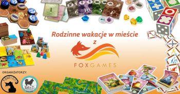 Rodzinne wakacje w mieście z Fox Games w  Kofi&Ti (do końca wakacji).