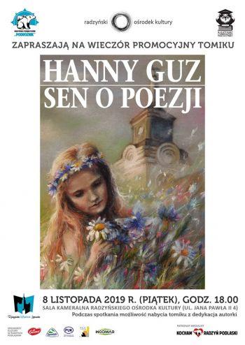 Wieczór Promocyjny Tomiku  Sen o Poezji Hanny Guz.