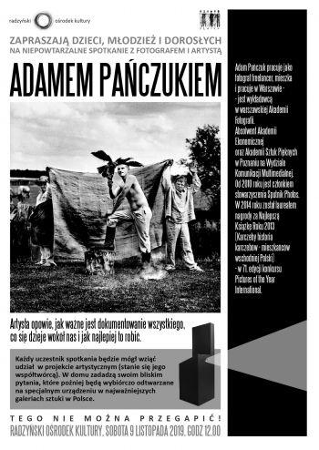 Spotkanie z Fotografem Adamem Pańczukiem.