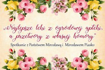 Spotkanie z Państwem Mirosławą i Mirosławem Piasko w Kofi&Ti.