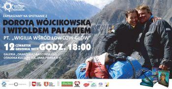 Spotkanie z Dorotą Wójcikowską i Witoldem Palakiem.