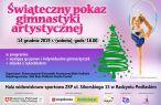 Świąteczny Pokaz Gimnastyki Artystycznej.