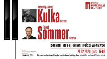 Koncert Konstantego Andrzeja Kulki i Pawła Sommera