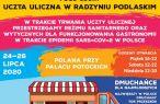 Uczta uliczna w Radzyniu Podlaskim