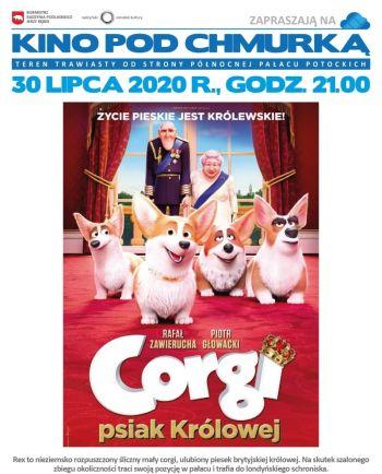 Kino pod chmurką - Corgi psiak królowej