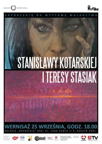 Wystawa malarstwa Stanisławy Kotarskiej i Teresy Stasiak
