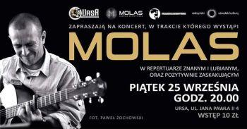 Koncert Molasa w Ursie