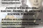 Tadeusz Mycek (1923-2019) - harcerz, żołnierz, architekt, rysownik, publicysta