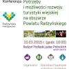 19 Lut. 2015 : Turystyka wiejska - konferencja