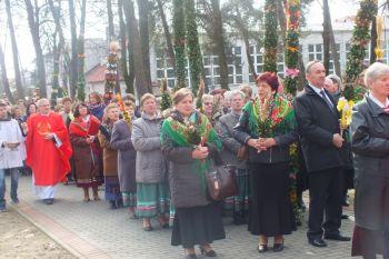 Niedziela Palmowa w Borkach