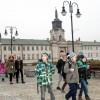 Zwiedzanie pałacu Potockich