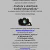 Konkurs fotograficzny - tradycja w obiektywie