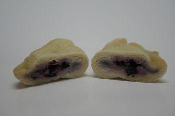 Pierogi zosinowskie z jagodami