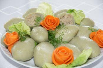 Pyzy polskowolskie z mięsem