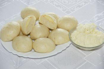 Parowańce z serem
