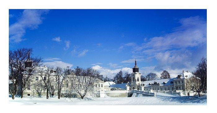 Pałac Potockich w Radzyniu Podlaskim - zima 2010.