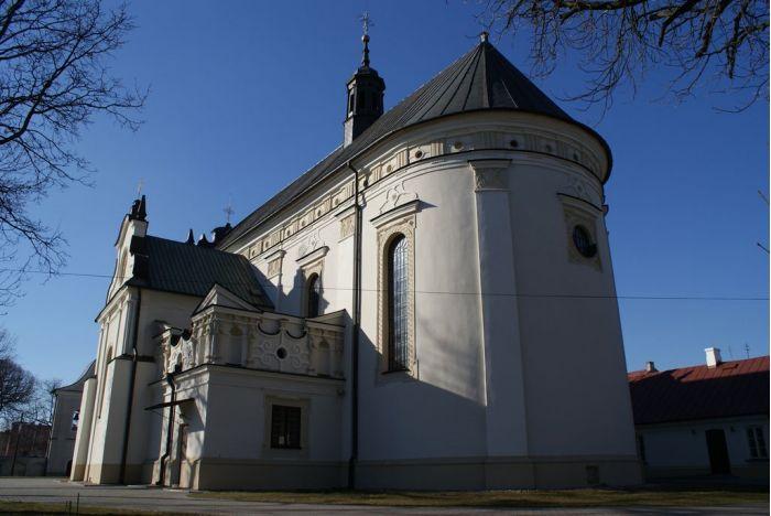 Renesansowy kościół Trójcy Św. w Radzyniu Podlaskim