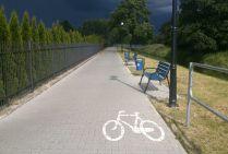 Radzyń przed burzą, ścieżka rowerowa