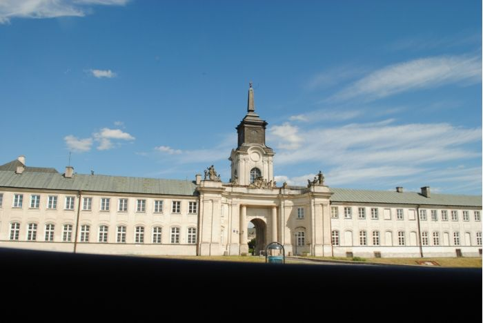 Pałac w Radzyniu - czerwiec 2014